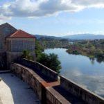 Vistas al río Miño desde el Castillo de Salvaterra