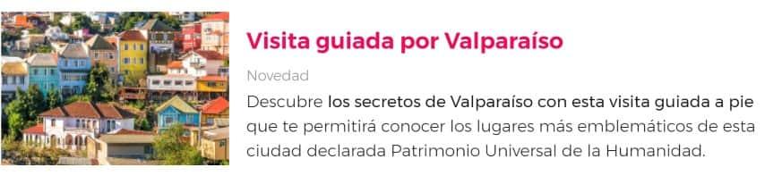 Visita a Valparaíso