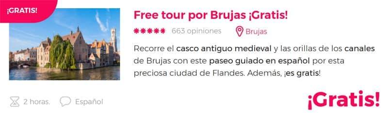 Free tour por Brujas