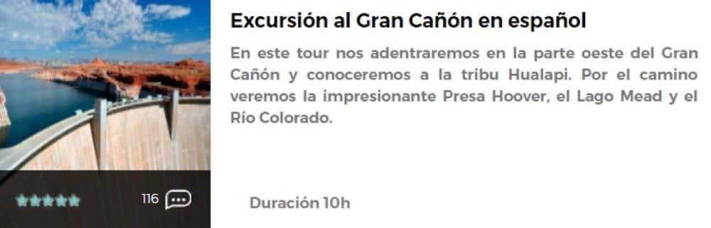 Excursión Gran Cañón