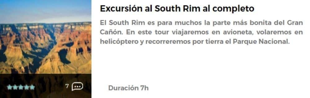 Excursión al South Rim