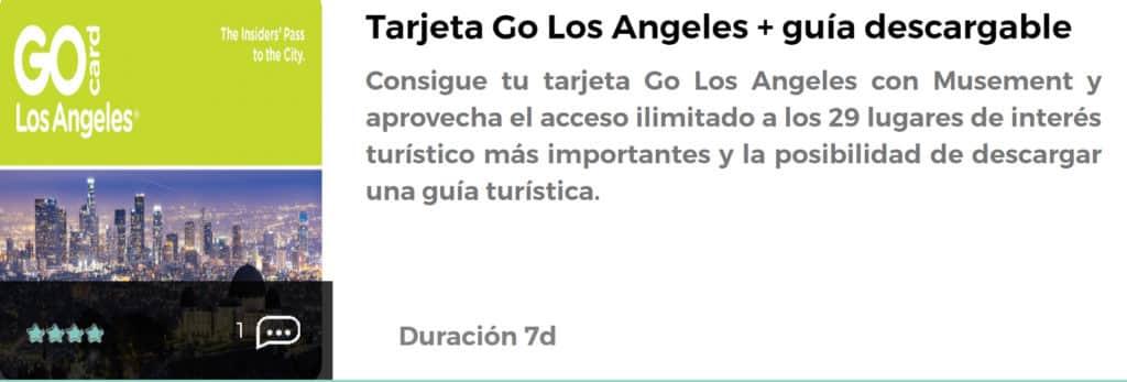 Tarjeta Go Los Ángeles