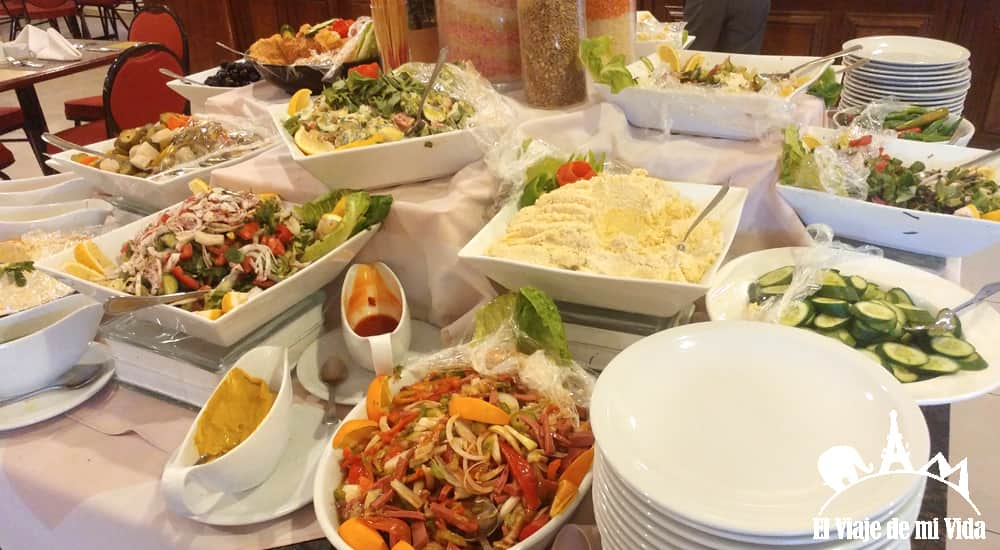 La gastronomía jordana