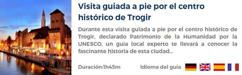Visita guiada por Trogir