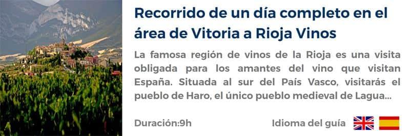 Recorrido por la Rioja Alavesa