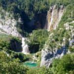 Entrada al Parque Nacional de los Lagos de Plitvice