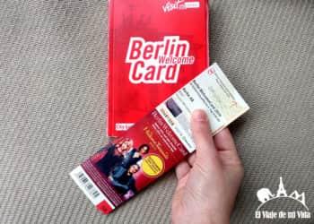 Cómo funciona la Berlin WelcomeCard