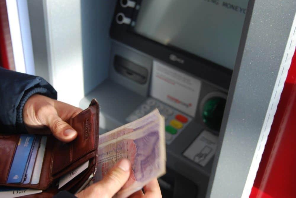 Cajeros automáticos en el extranjero