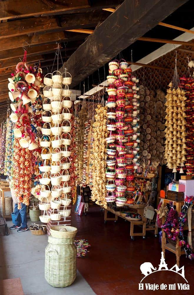 Artesanía michoacana