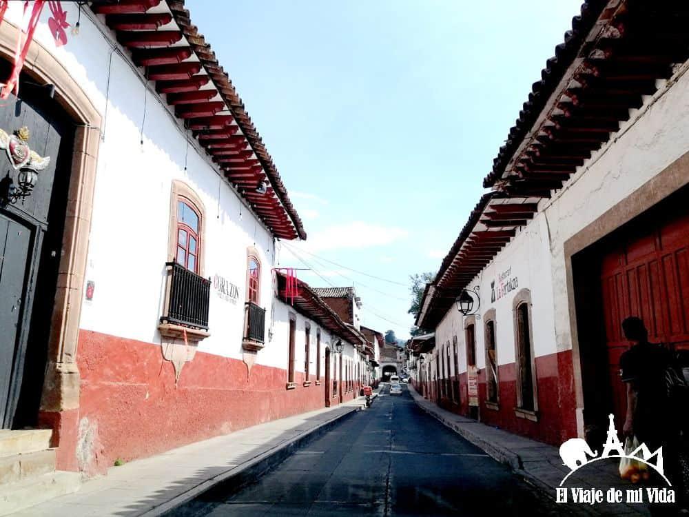 Las calles de Pátzcuaro