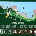 Mapa de Boulders Beach