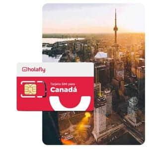 Tarjeta SIM Holafly Canadá