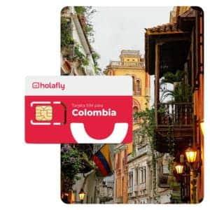 Tarjeta SIM Holafly Colombia